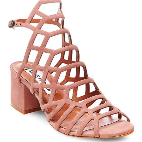 3cee8f28374 New Steve Madden Ira heel sandal in dustysize 7.5